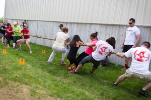 Tug of war competitions