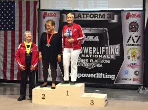 2016 USA Powerlifting Raw National Champion Denise Thomas