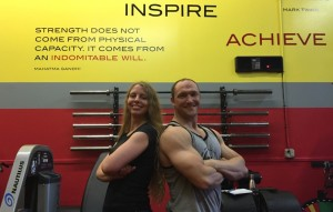 Beth Fuller & Coach Royce Claflin