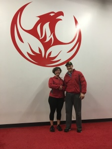 Athlete of the month: Marie Cleary & Coach Royce